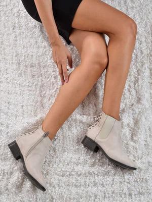 Ботинки бежевые | 4818757