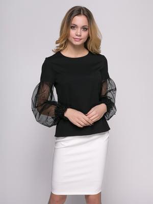 Блуза чорна | 4817192