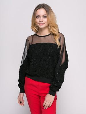 Блуза чорна | 4817191