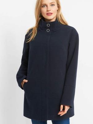 Пальто темно-синє   4820585