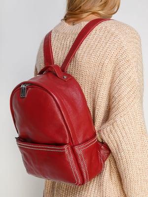 Сумка-рюкзак красная | 4816490