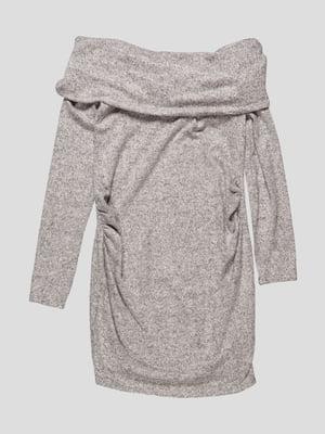 Платье серое | 4761892