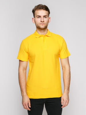 Футболка-поло жовта | 4812196