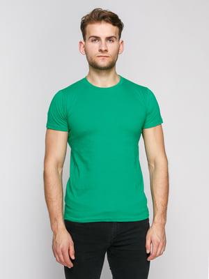 Футболка зеленая | 4812174