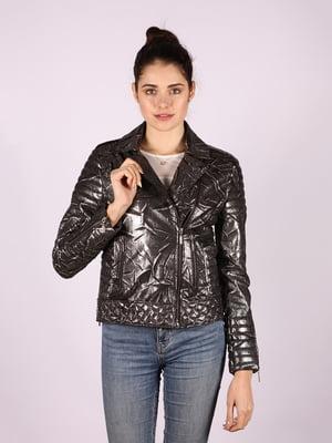 Куртка сріблястого кольору | 4822639