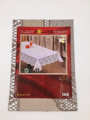 Скатерть бежевая (75х120 см) - Selena - 4821545