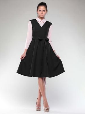Платье-сарафан черное | 4807748