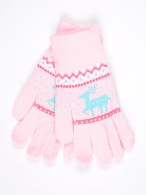 Рукавички рожеві | 4821710