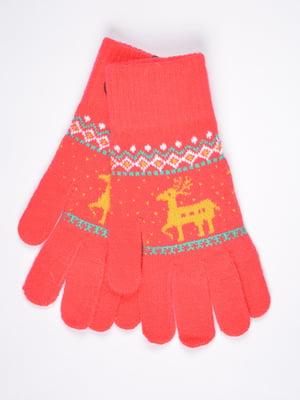 Перчатки оранжевые | 4821713