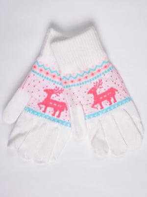 Перчатки белые   4821714