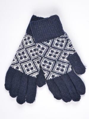 Перчатки темно-синие | 4821751