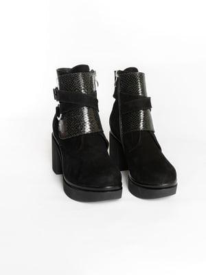 Ботинки черные   4822501