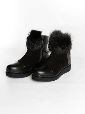 Ботинки черные | 4822510