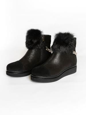 Ботинки черные | 4822514