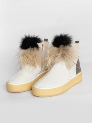 Ботинки бежевые | 4822549