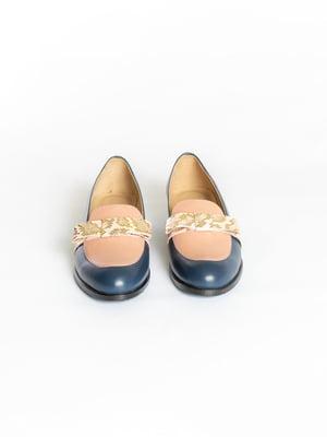 Туфлі сині | 4822555