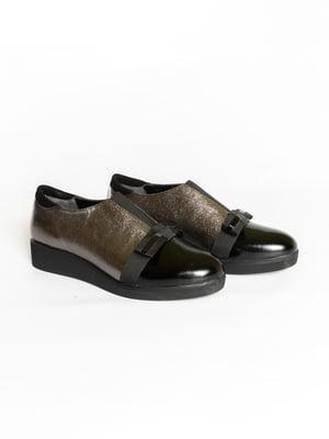 Туфлі двоколірні | 4822560