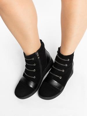Ботинки черные | 4822581