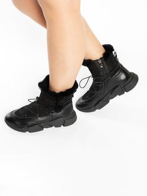 Ботинки черные | 4822591