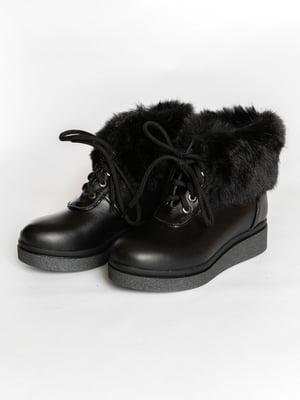 Ботинки черные | 4822593