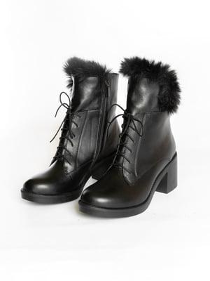 Ботинки черные | 4822595