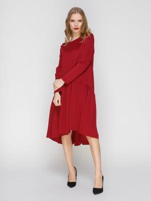 Сукня кольору марсала   3045916