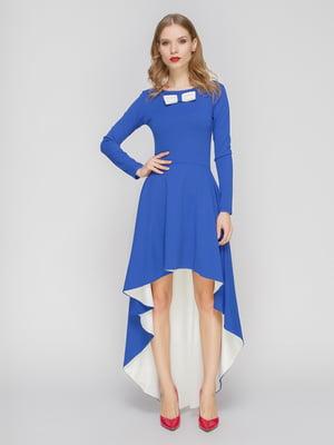 Платье сине-белое   2003631