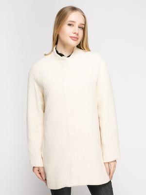 Пальто молочное | 4790550