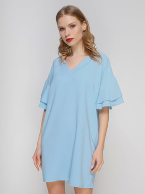 Платье голубое | 3361623