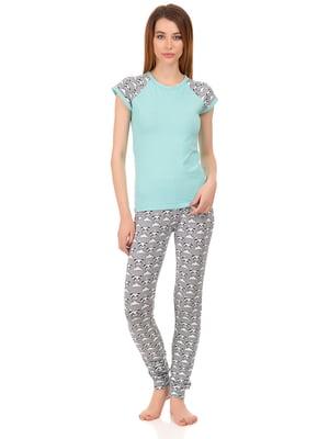 Комплект: футболка и штаны | 4824036
