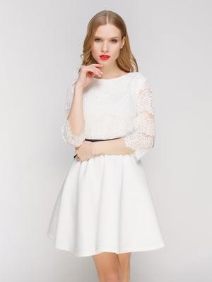 Платье белое - CELEBRITY - 3182327