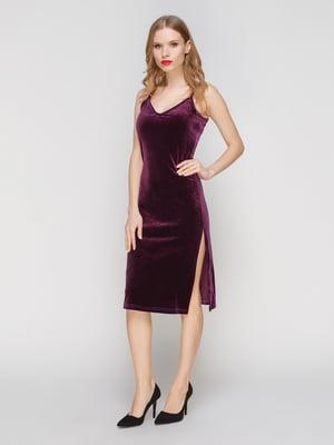 Платье фиолетовое | 3182312