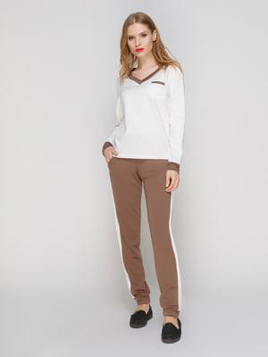 Костюм спортивный: пуловер и брюки | 3182337