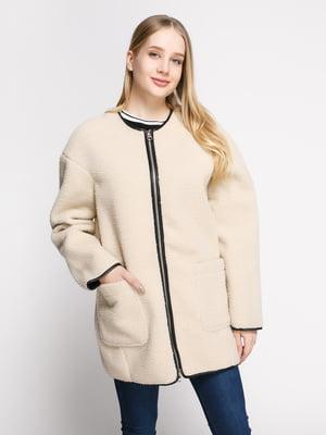 Пальто светло-бежевое | 4808022