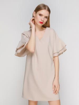 Платье бежевое | 3361624