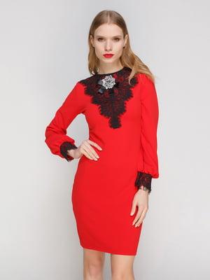Платье красное | 3182324