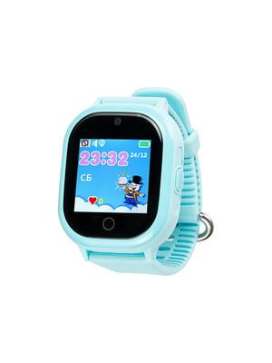 Часы умные детские с GPS трекером TD-05 (blue) водонепроницаемые | 4312175