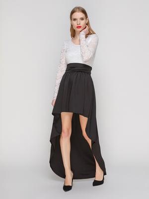Платье черно-белое   2003621