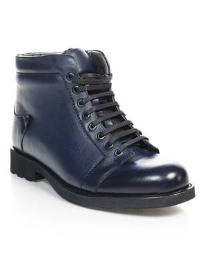 Ботинки синие | 4820175