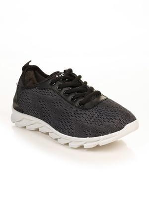 Кроссовки темно-серые | 4822686