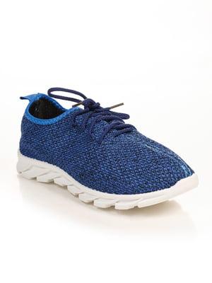 Кроссовки синие | 4778824