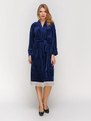 Платье темно-синее | 3045927