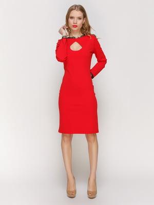 Платье красное - CELEBRITY - 3045914