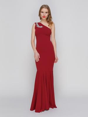 Сукня бордова | 2003677