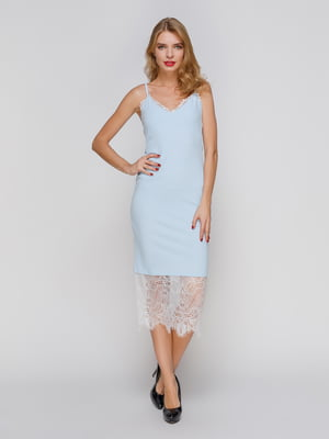 Платье голубое | 3257972
