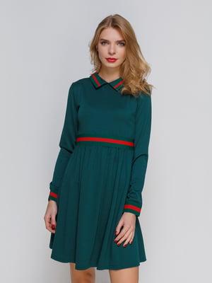 Платье изумрудного цвета | 2735482
