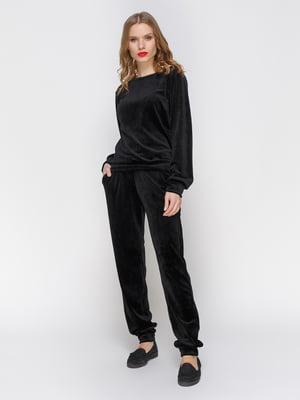 Костюм бархатный: джемпер и брюки | 2959615