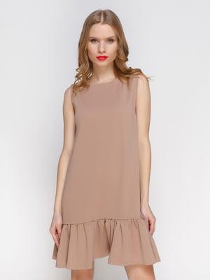 Платье бежевое   3182315