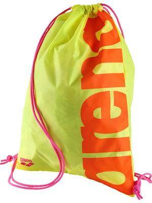 Сумка-рюкзак жовта | 4651239