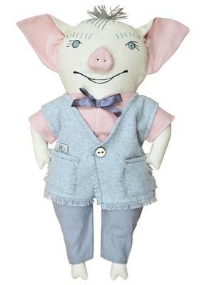 Игрушка интерьерная «Свинка папа» (43х29 см) | 4764284